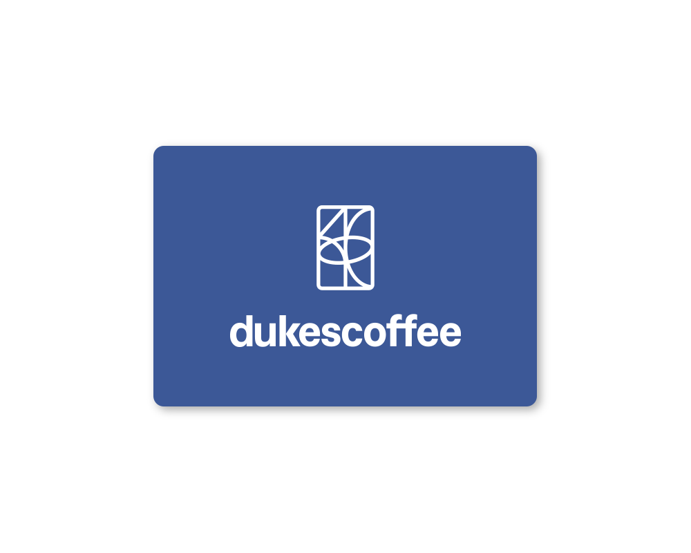 Dukes Coffee Store Gift Card