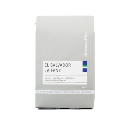 El Salvador La Fany Natural Espresso Coffee