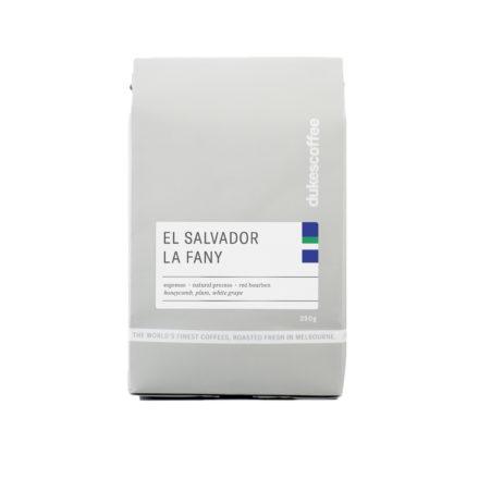 El Salvador La Fany Natural Espresso Coffee