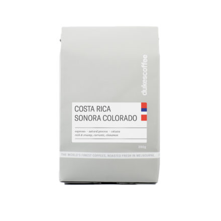Costa Rica Sonora Colorado Espresso Coffee