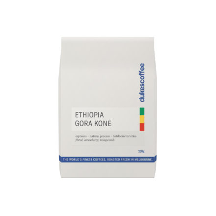 Ethiopia Gora Kone Natural Espresso Coffee