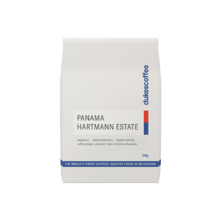 Panama Hartmann Estate Espresso Coffee