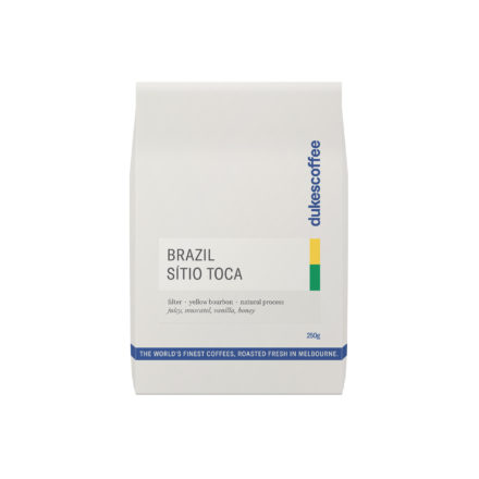 Brazil Sitio Toca Filter Coffee COCARIVE Auction Winner #3