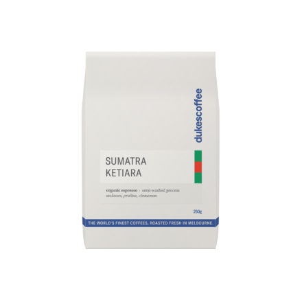Dukes Coffee Organic Sumatra Espresso