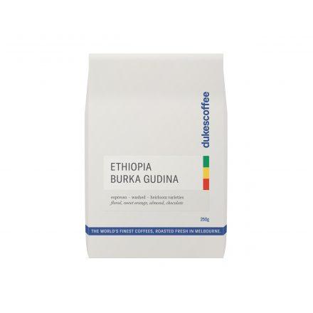 Ethiopia Burka Gudina Organic Espresso Coffee