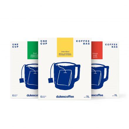 Dukes Coffee Single Serve Coffee Bag Variety Pack