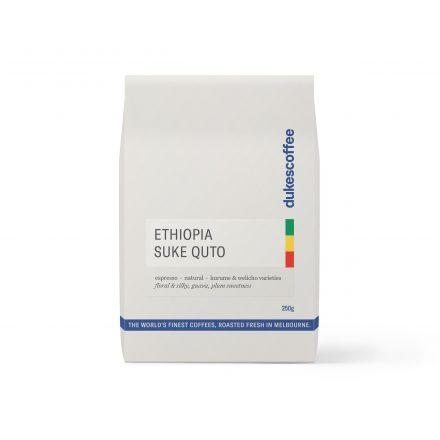 Ethiopia Suke Quto Organic Espresso Coffee
